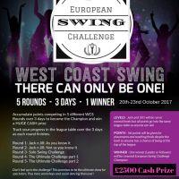 European Swing Challenge flyer